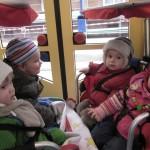 Straßenbahnfahrt